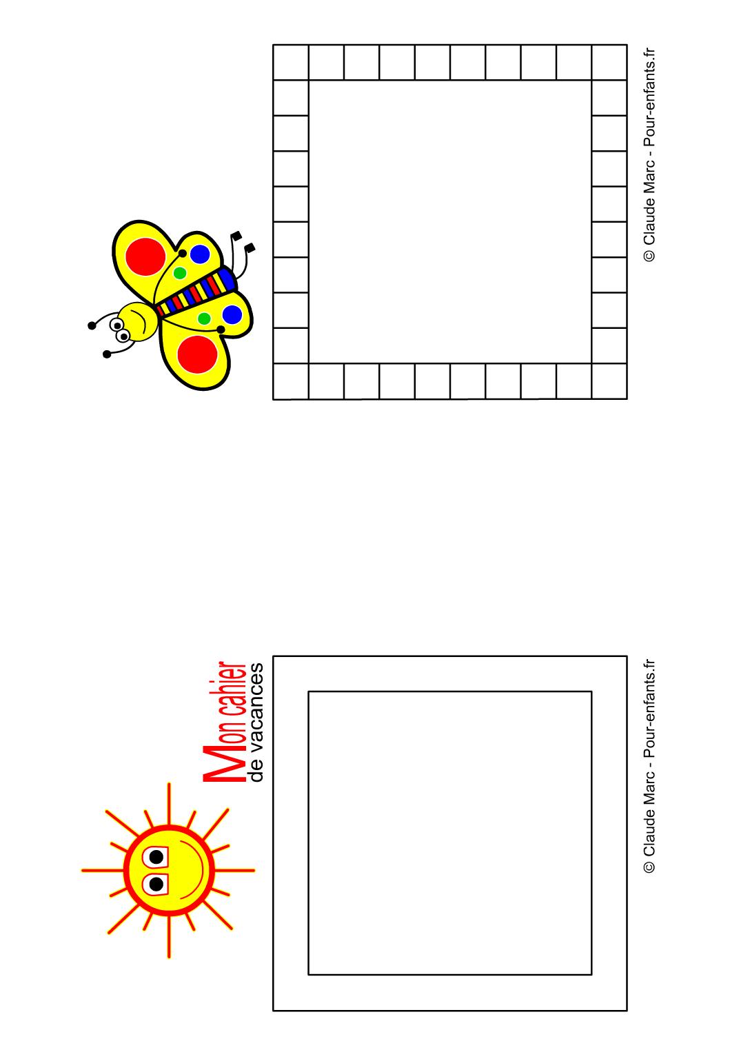 Cahier De Vacances Gratuit À Imprimer Maternelle Enfants destiné Cahier De Vacances À Imprimer