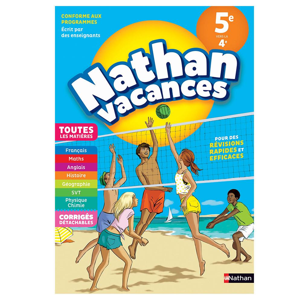 Cahier De Vacances Nathan Toutes Les Matières De La 5Ème Vers La 4Ème intérieur Cahier De Vacances Maternelle Pdf