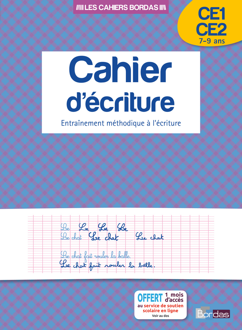 Cahier D'écriture Ce1/ce2 * Cahier D'activités/d'exercices à Exercice D Écriture Ce2
