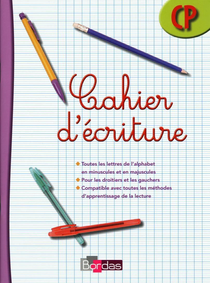 Cahier D'écriture Cp * Cahier D'exercices (Ed. 2009 dedans Cahier Majuscule