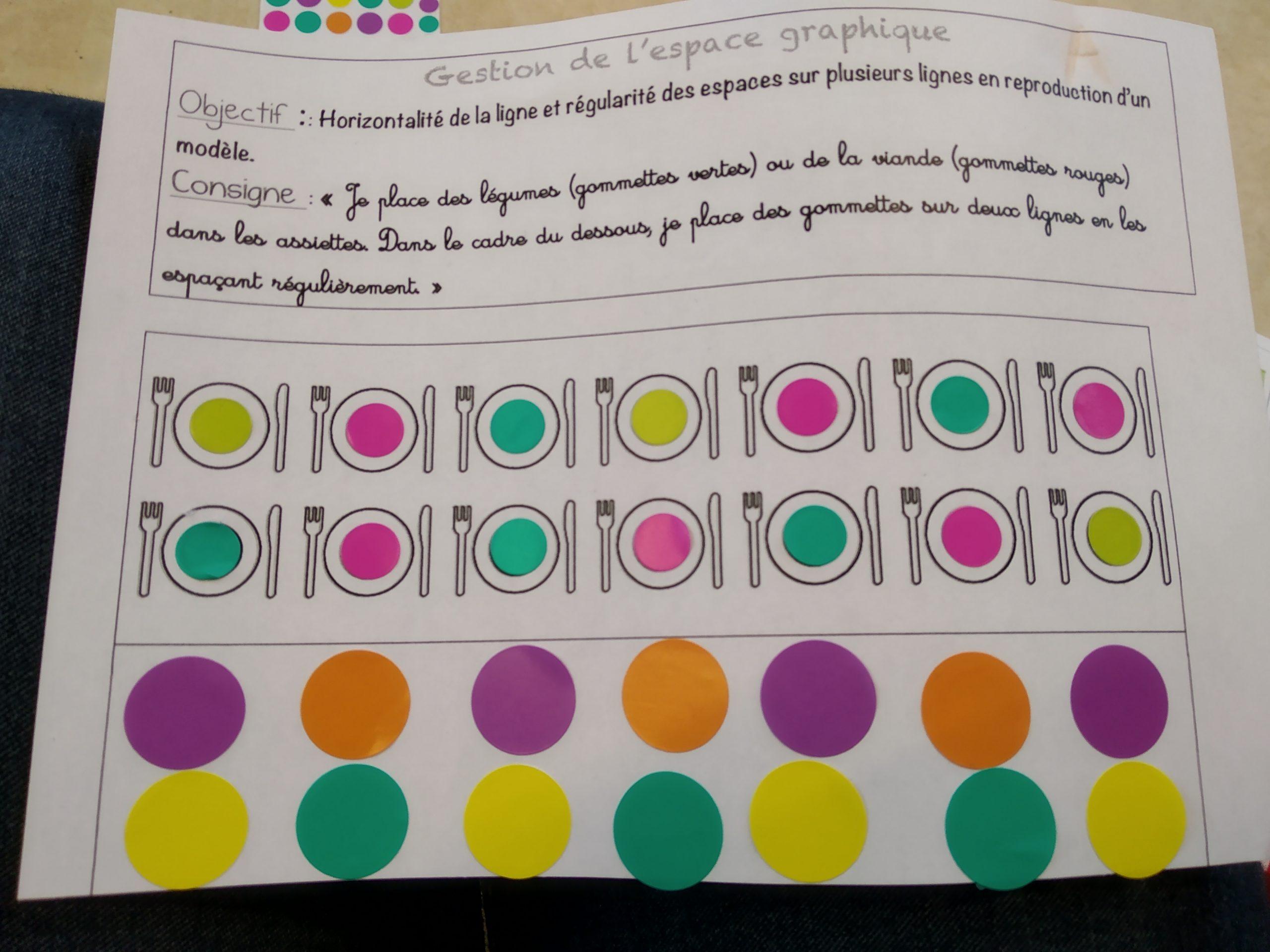Cahier D'écriture Ms - La Classe De Luccia ! dedans Exercice Petite Section En Ligne