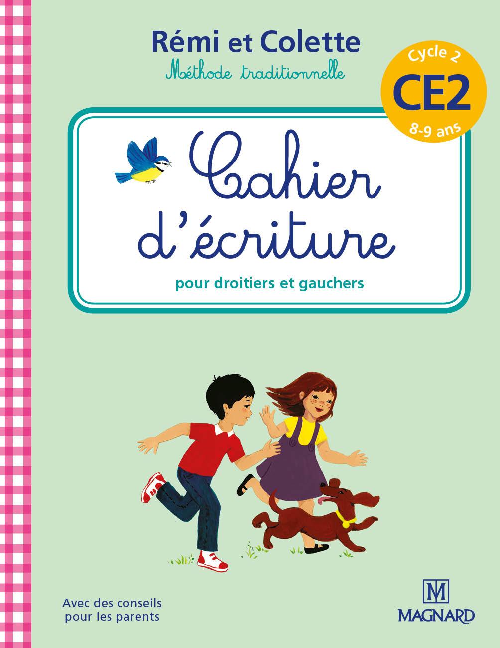 Cahier D'écriture Rémi Et Colette Ce2   Editions Magnard intérieur Cahier D Écriture Cp À Imprimer