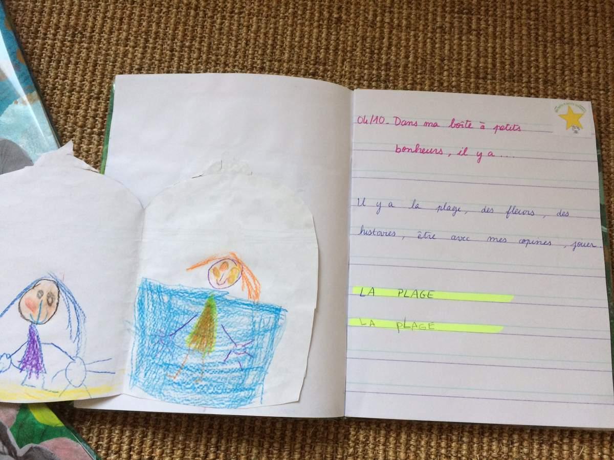 Cahier D'écrivain Et Poissons Émotions En Gs Chez Marie B tout Cahier De Vacances Maternelle Pdf