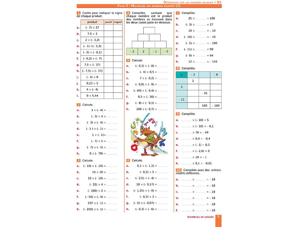 Cahier D'exercices Iparcours Maths 4E (Éd. 2019) avec Cahier D Activité A Imprimer
