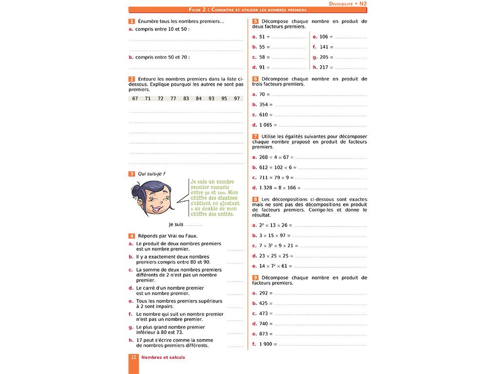 Cahier D'exercices Iparcours Maths 4E (Éd. 2019) serapportantà Cahier D Activité A Imprimer