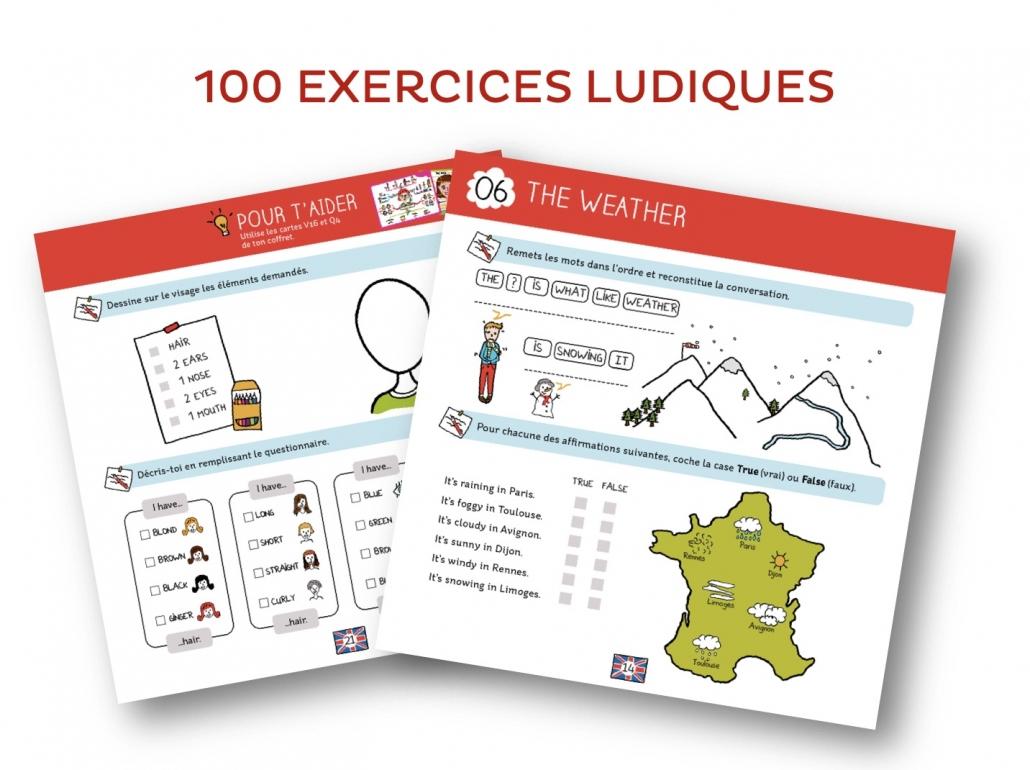 Cahier D'exercices Pour Devenir Un As En Anglais destiné Exercice Ludique