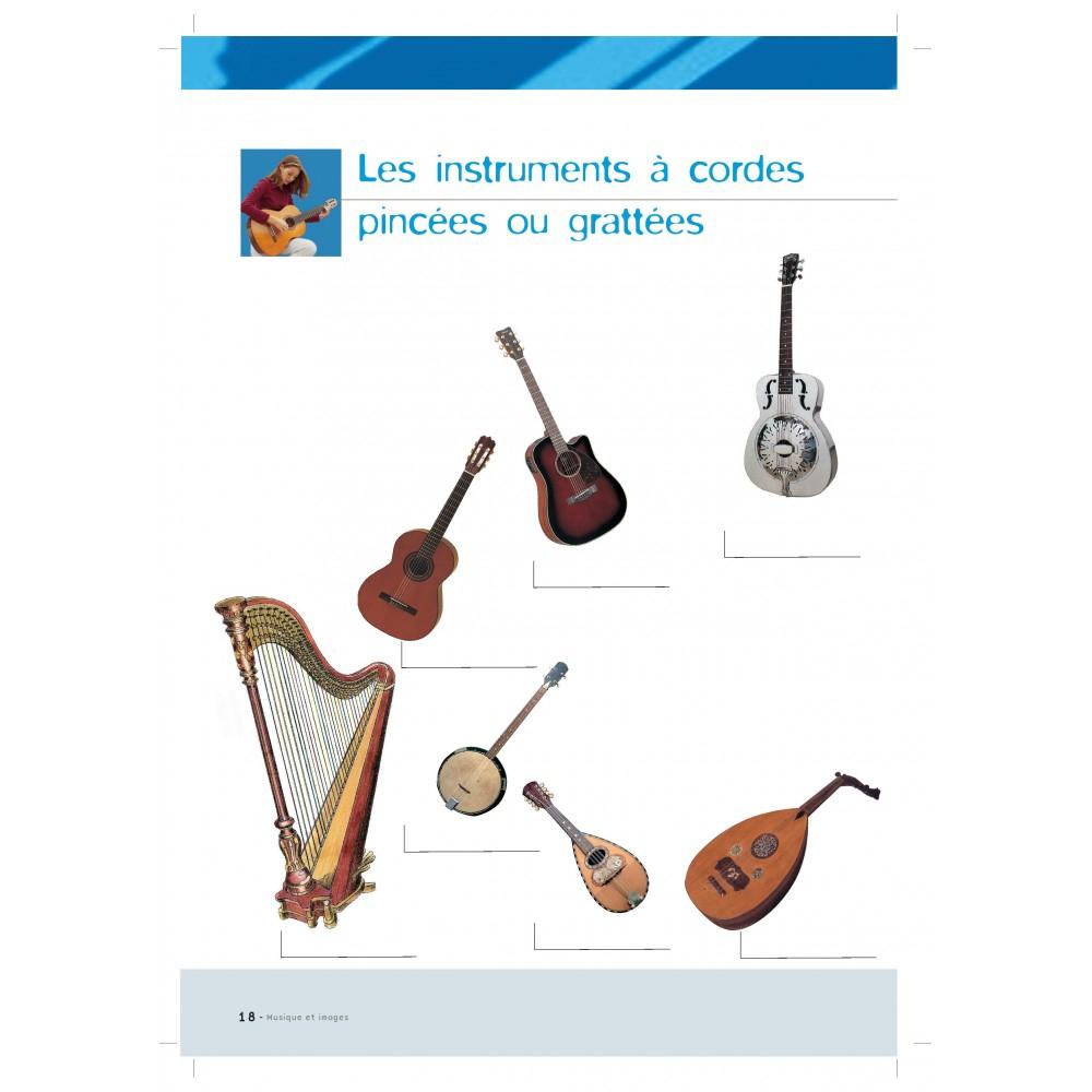 Cahier Musique Et Images Pour La Decouverte De La Musique serapportantà Image Instrument De Musique À Imprimer