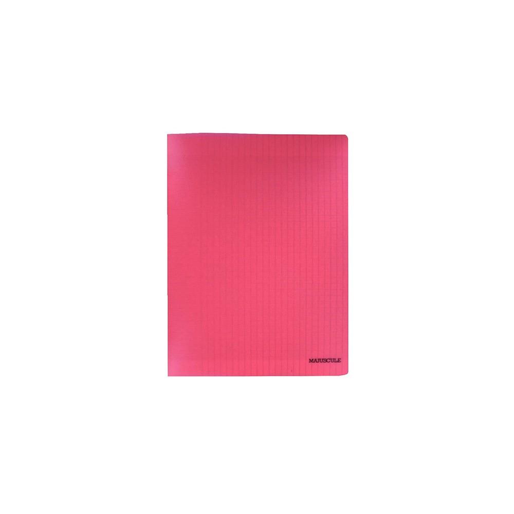 Cahier Piqure 24X32 140P Seyes Rouge 90G serapportantà Cahier Majuscule