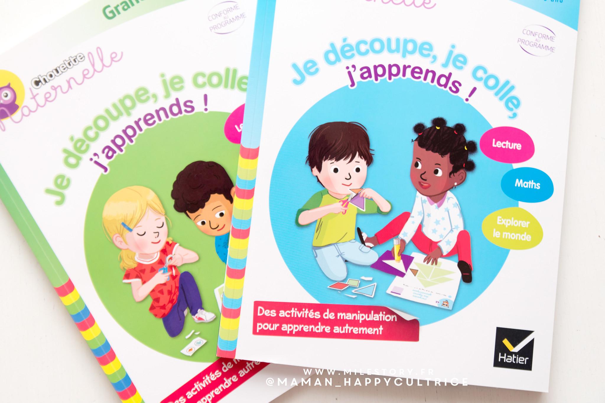 Cahiers D'activités Maternelle Découpe Colle - Milestory intérieur Cahier De Vacances Maternelle À Imprimer