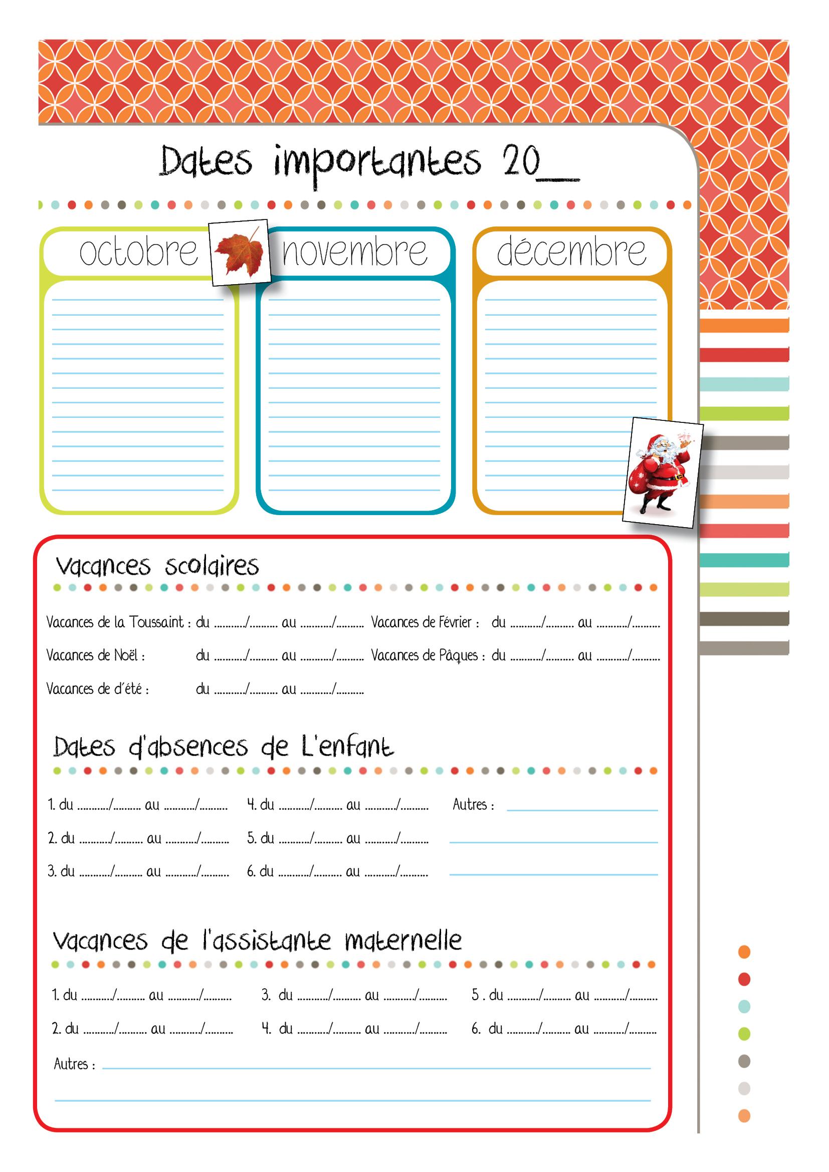 Cahiers De Liaison Et Cahiers De Vie | encequiconcerne Cahier De Vacances Maternelle Pdf