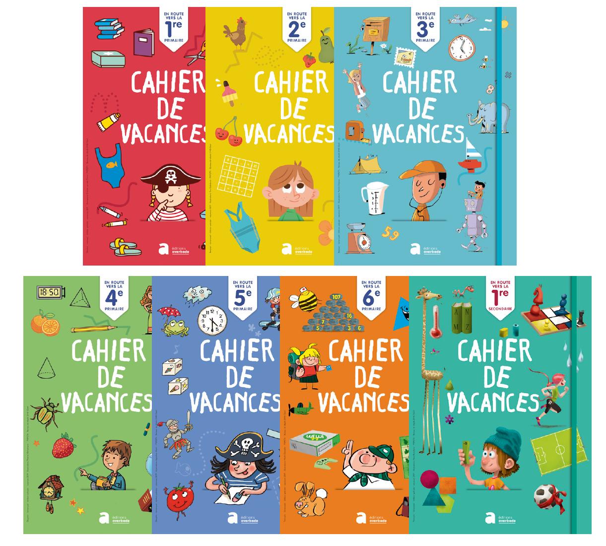 Cahiers De Vacances-Cahiers De Vacances serapportantà Carnet De Vacances À Imprimer