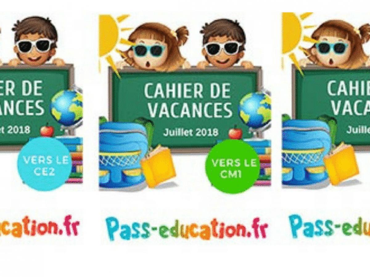 Cahiers De Vacances Gratuits À Imprimer • Mes Échantillons dedans Cahier De Vacances À Imprimer