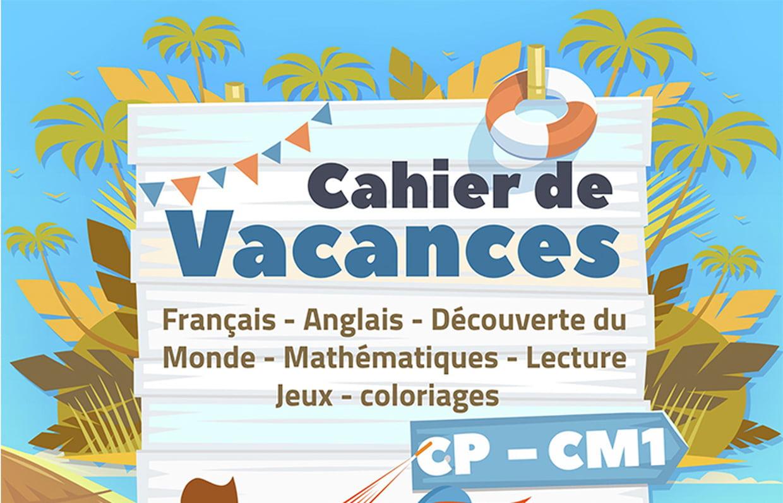 Cahiers De Vacances Gratuits À Imprimer Sur Hugolescargot dedans Cahier De Vacances Gratuit En Ligne