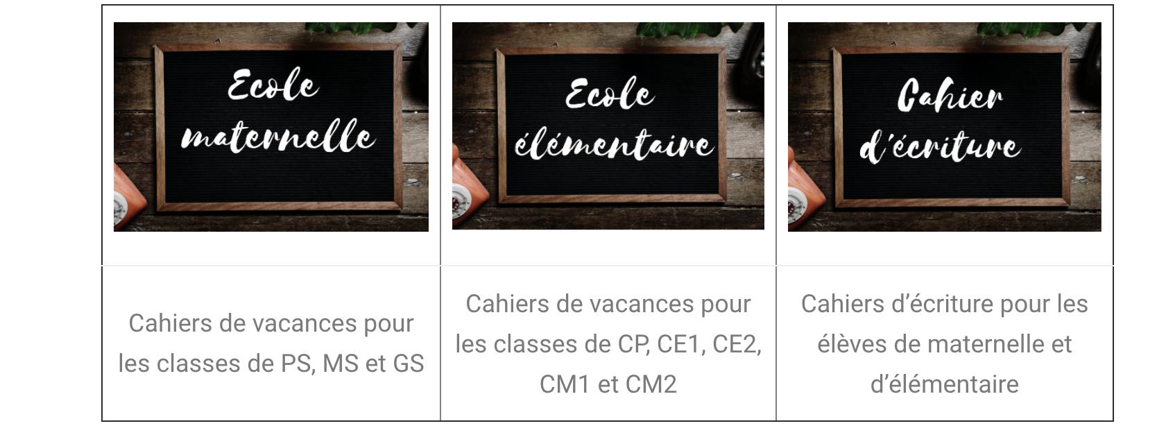 Cahiers De Vacances Gratuits Avec Le Site Editions Rosace avec Cahier De Vacances Maternelle Pdf