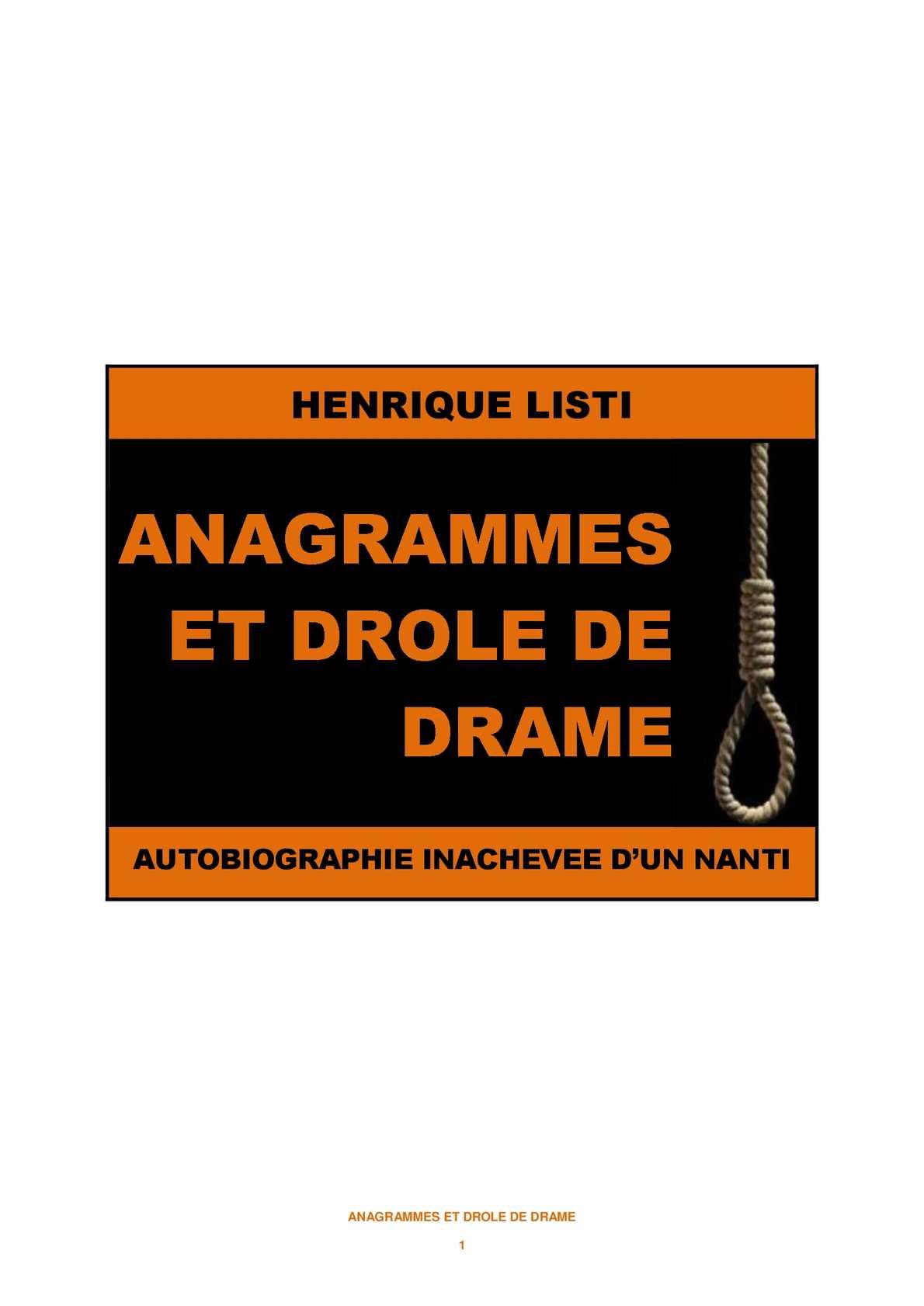 Calaméo - Anagrammes Et Drôle De Drame avec Anagrammes À Imprimer
