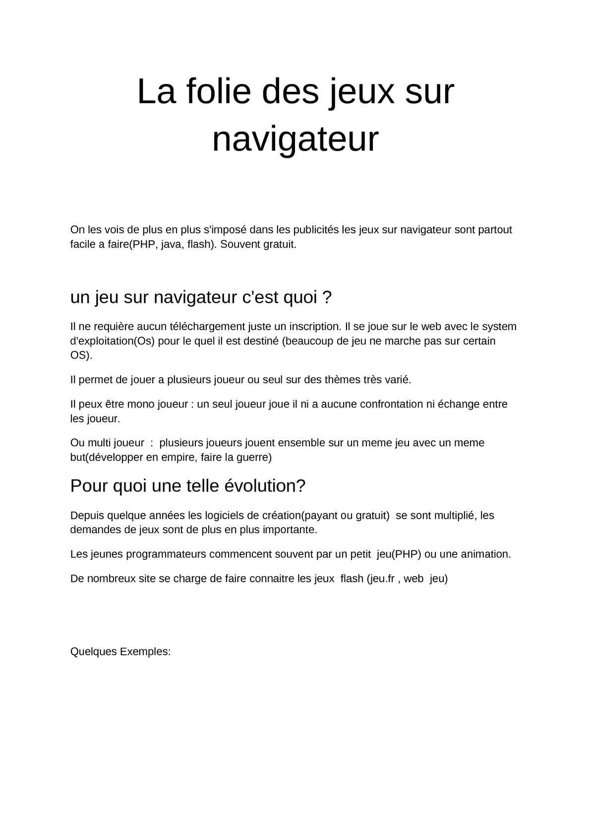 Calaméo - {Article}La Folie Des Jeux Sur Navigateur destiné Jeux Facile Pour Petit Gratuit
