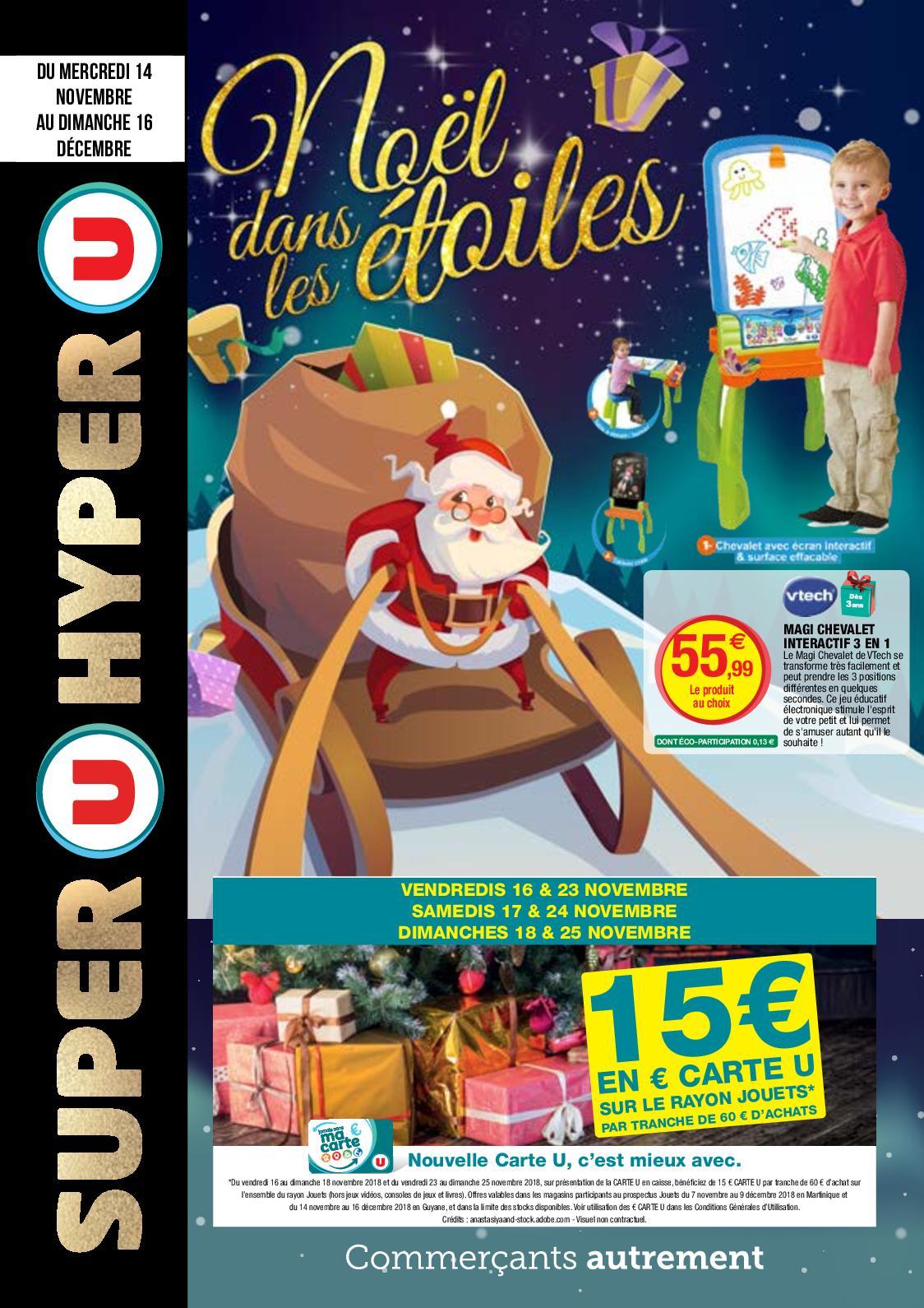 Calaméo - Catalogue Super U & Hyper U Du 14/11 Au 16/12 pour Jeu Interactif 3 Ans