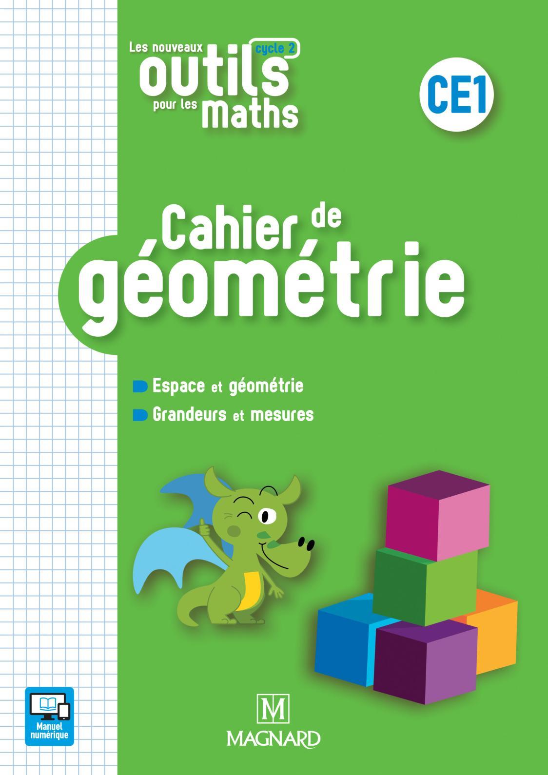 Calaméo - Extrait Cahier De Géométrie Ce1 - Les Nouveaux intérieur Reproduction Sur Quadrillage Ce1
