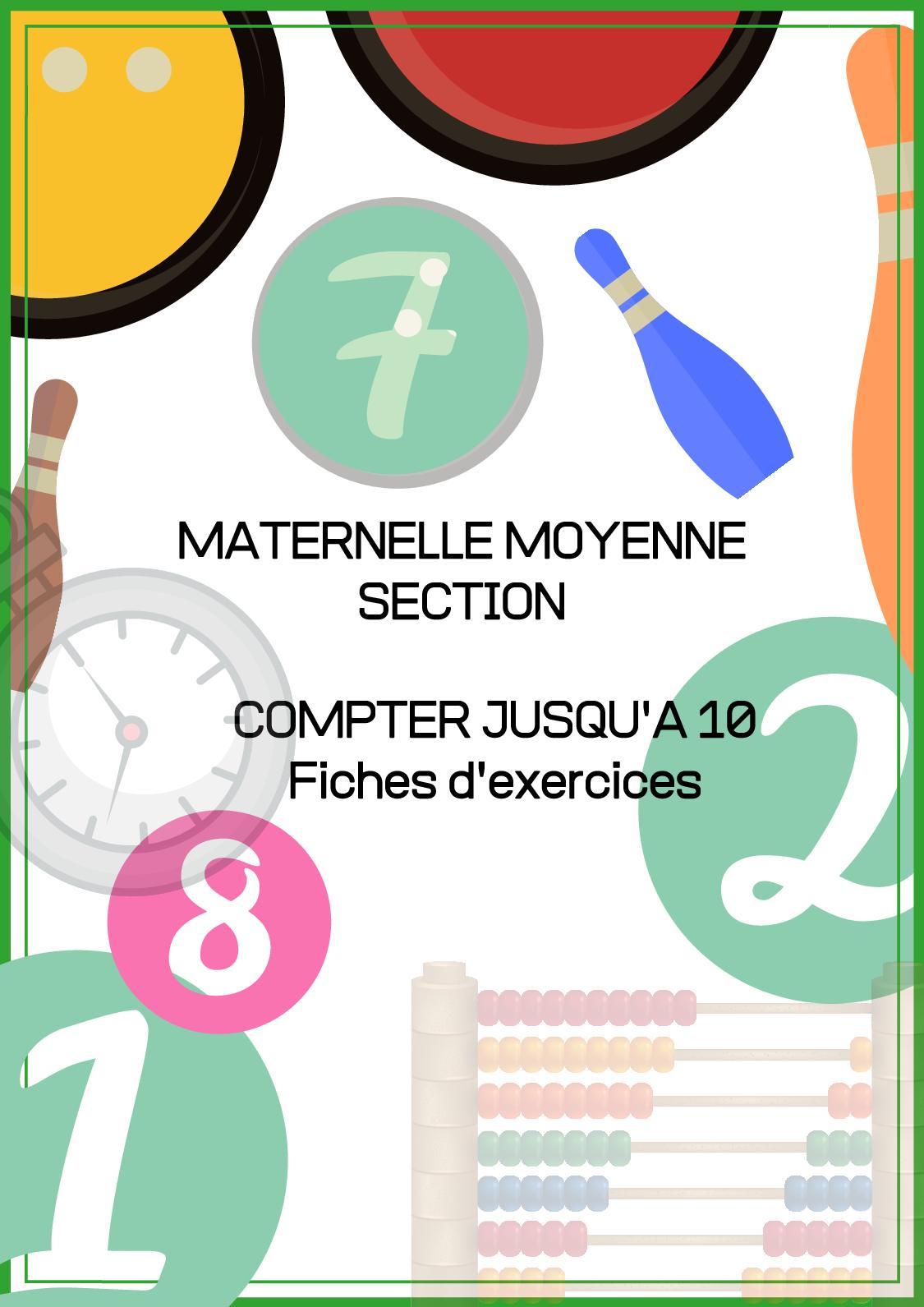 Calaméo - Fichier Ms Pour Site intérieur Exercice Maternelle Moyenne Section