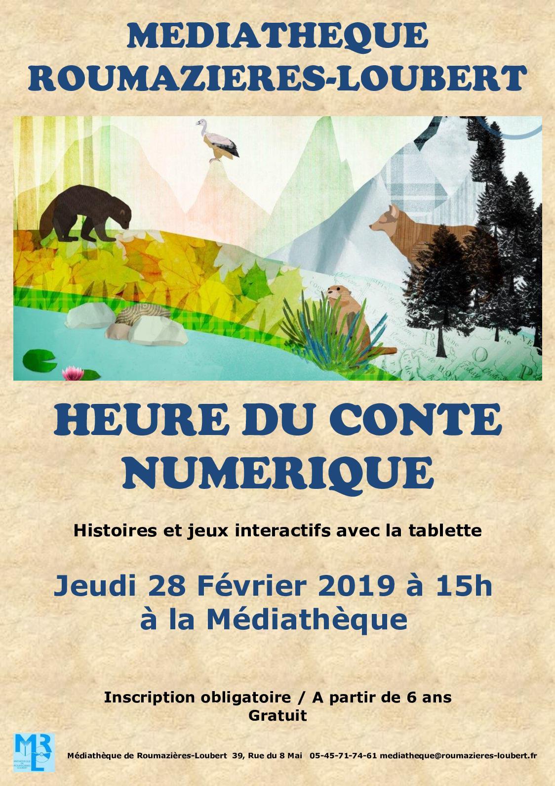 Calaméo - Heure Du Conte Numérique 28 Février 2019 avec Jeux Interactifs 6 Ans