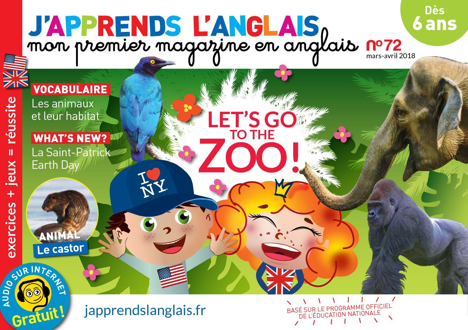 Calaméo - J'apprends L'anglais N°72 avec Jeux Gratuit Anglais