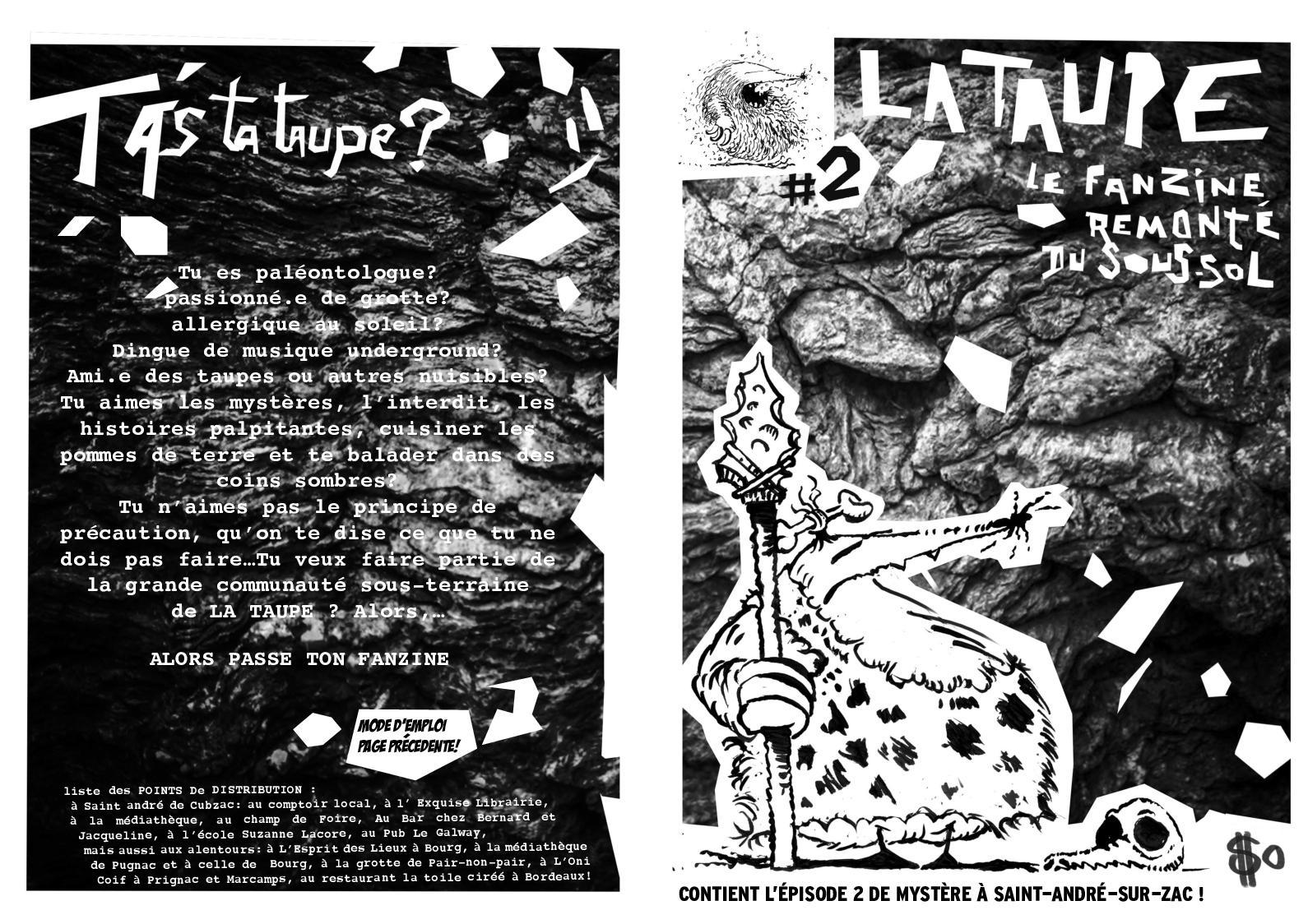 Calaméo - La Taupe #episode 2 avec La Taupe Musique