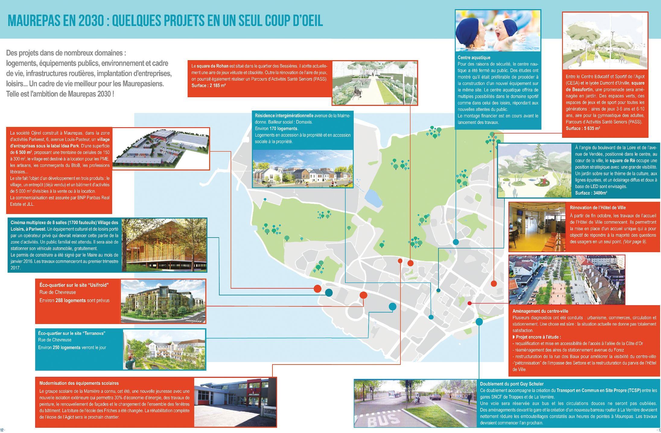 Calaméo - Les Grands Projets Maurepas 2030 dedans Jeux De Parcours Gratuit