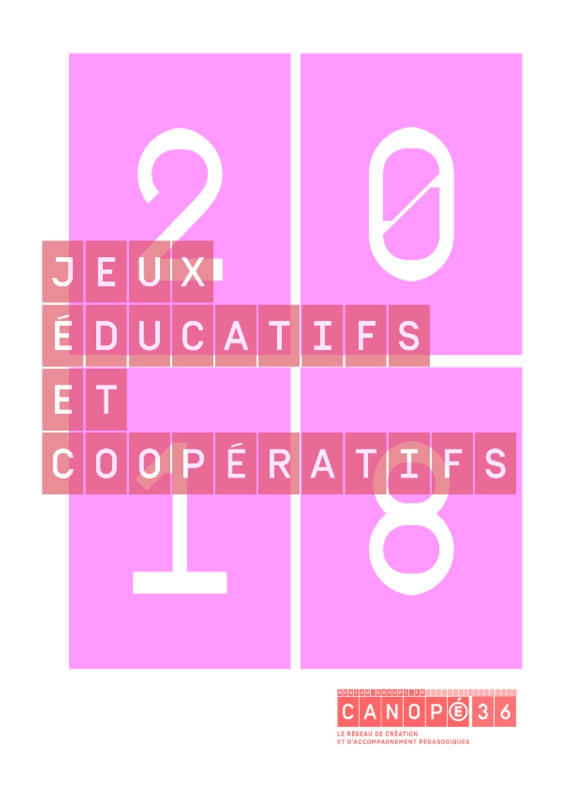 Calaméo - Livret Jeux 2018-2019 Canopé 36 dedans Jeux Educatif Gs