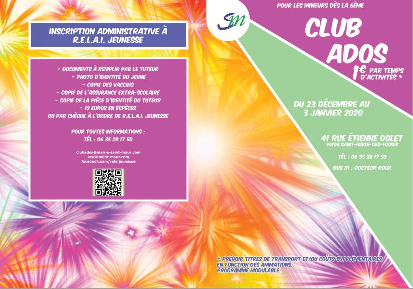Calaméo - Programme Vacances De Noël - Club Ados encequiconcerne Fausses Pieces Euros