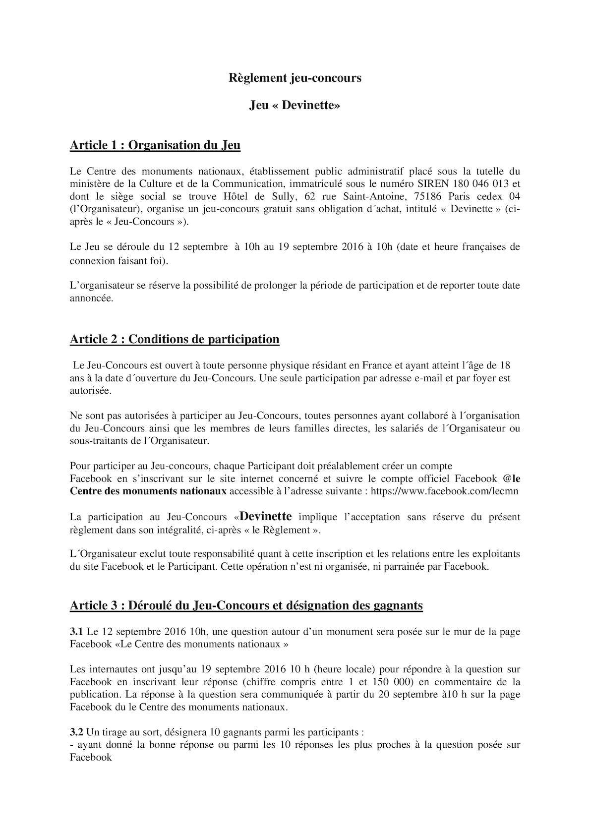 """Calaméo - Règlement Du Jeu """"devinette"""" dedans Question Reponse Jeu"""