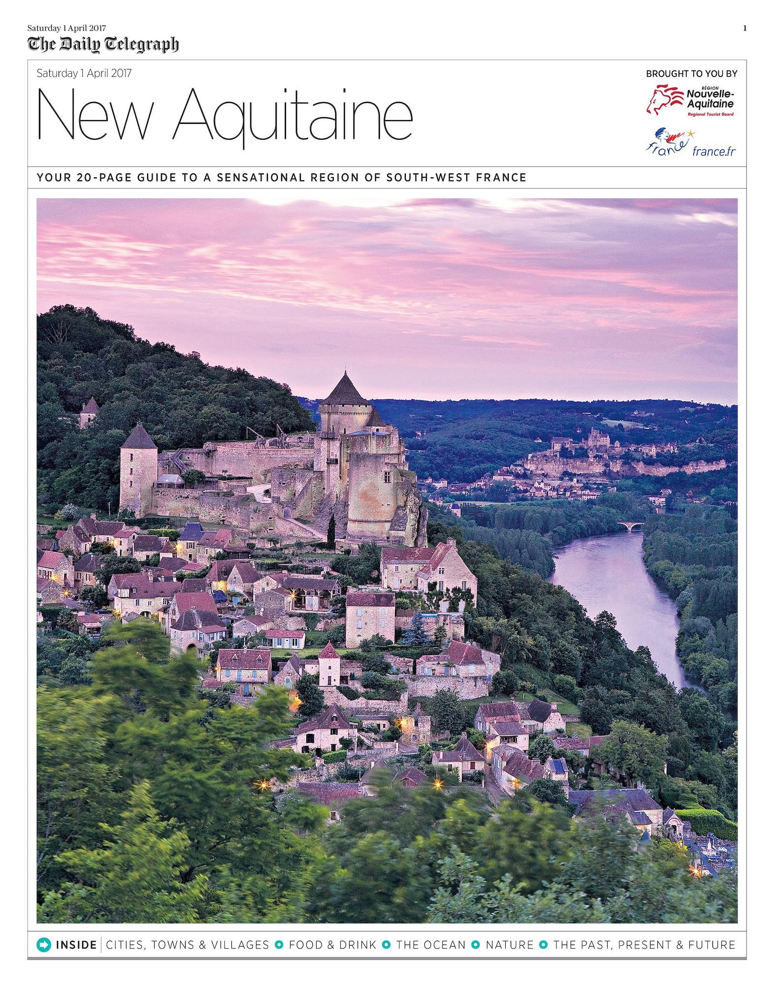 Calaméo - Supplément Nouvelle Aquitaine - Saturday Telegraph destiné Nouvelle Region France