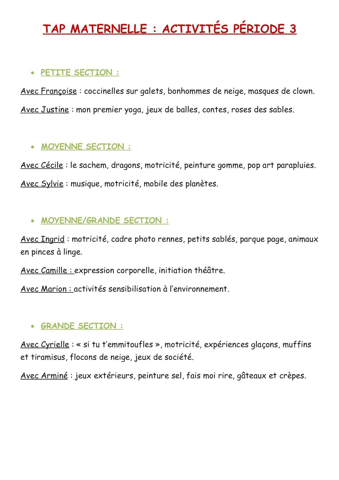 Calaméo - Tap Maternelle P3 tout Jeux Maternelle Moyenne Section