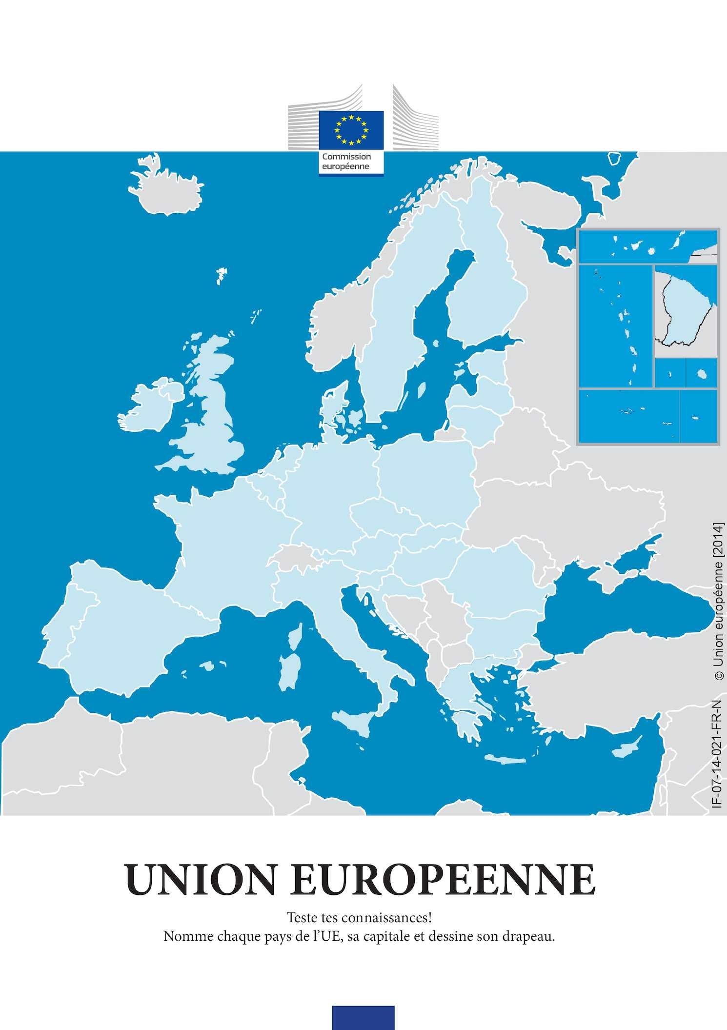 Calaméo - Ue Teste Tes Connaissances tout Les Capitales De L Union Européenne