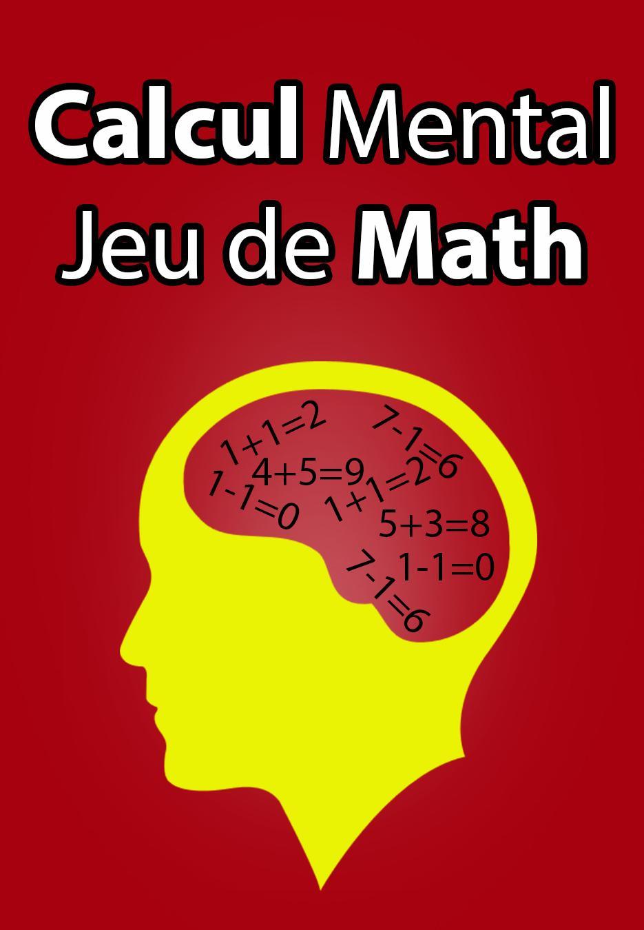 Calcul Mental Jeu De Math For Android - Apk Download encequiconcerne Jeux De Maths Gratuit