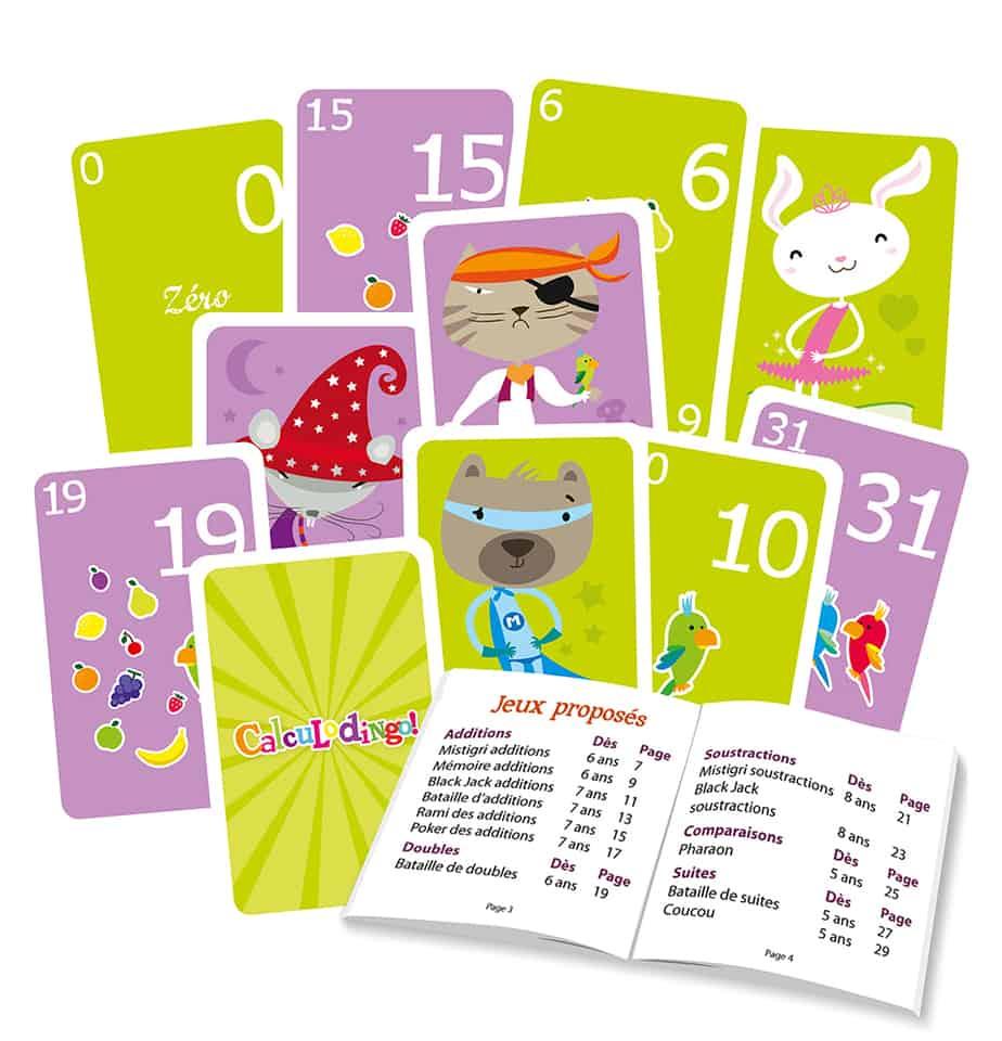 Calculodingo - Jeu De Numération, Additions Et Soustractions tout Jeux Gratuit Maternelle Grande Section
