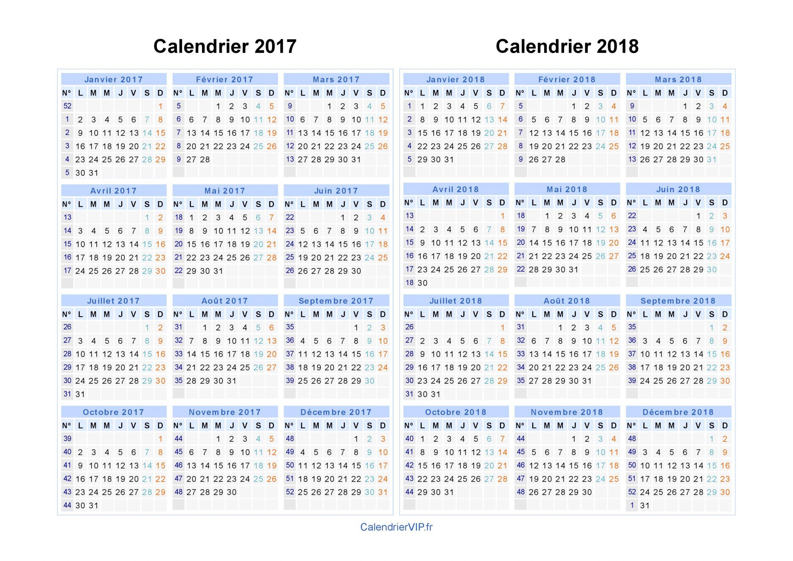 Calendrier 2017 2018 Paysage En Jpeg Image | Calendrier 2017 à Calendrier 2017 Imprimable