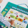 Calendrier En Tissu Educabul Création Oxybul |  Calendrier tout Jeu Educatif 4 Ans