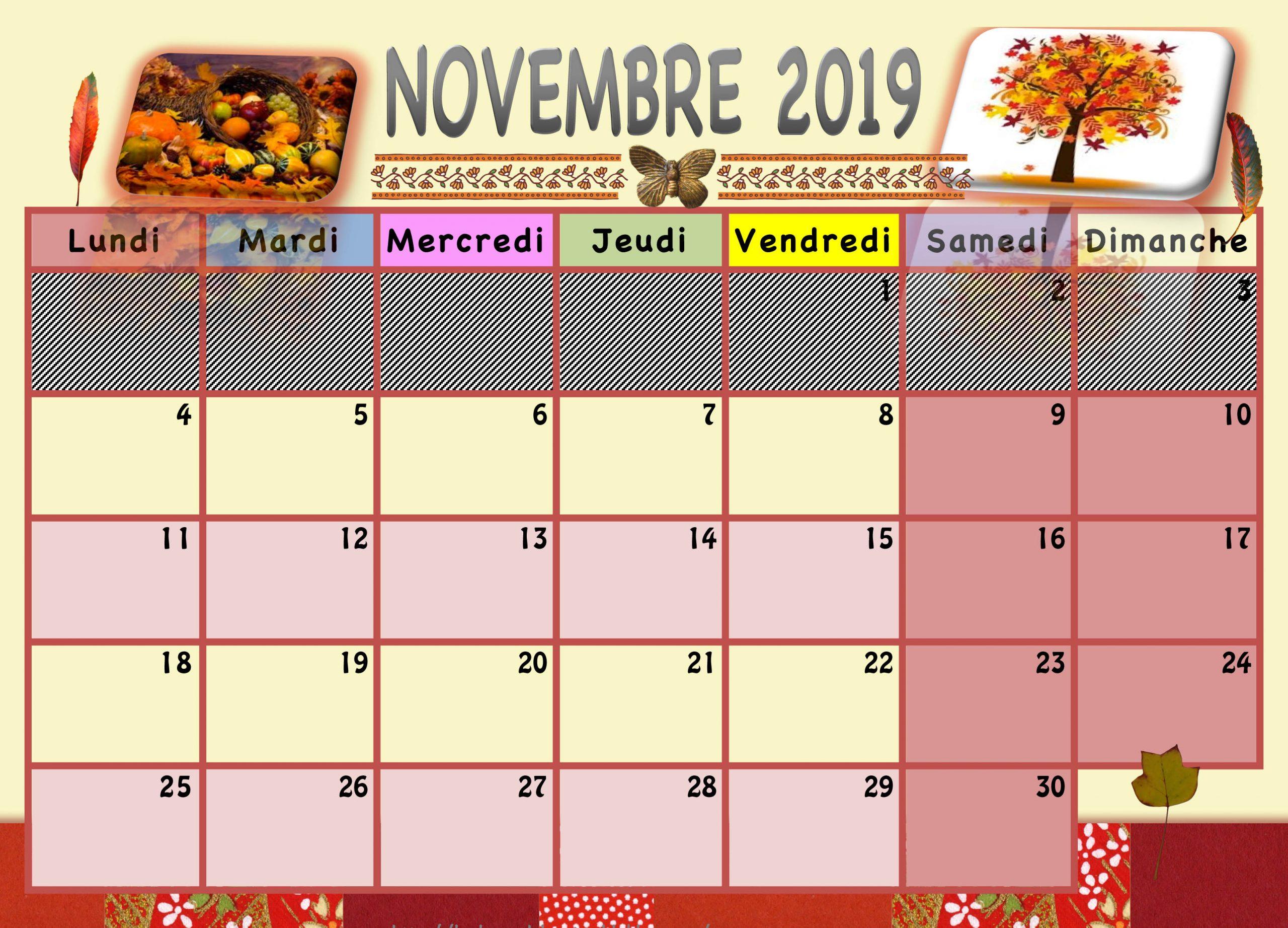 Calendrier Enfant 2019/2020 - La Classe De Luccia ! encequiconcerne Calendrier Ludique À Imprimer