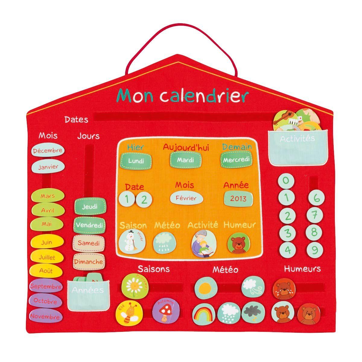 Calendrier Oxybul Pour Enfant De 4 Ans À 7 Ans - Oxybul concernant Jeux Pour Enfant De 7 Ans