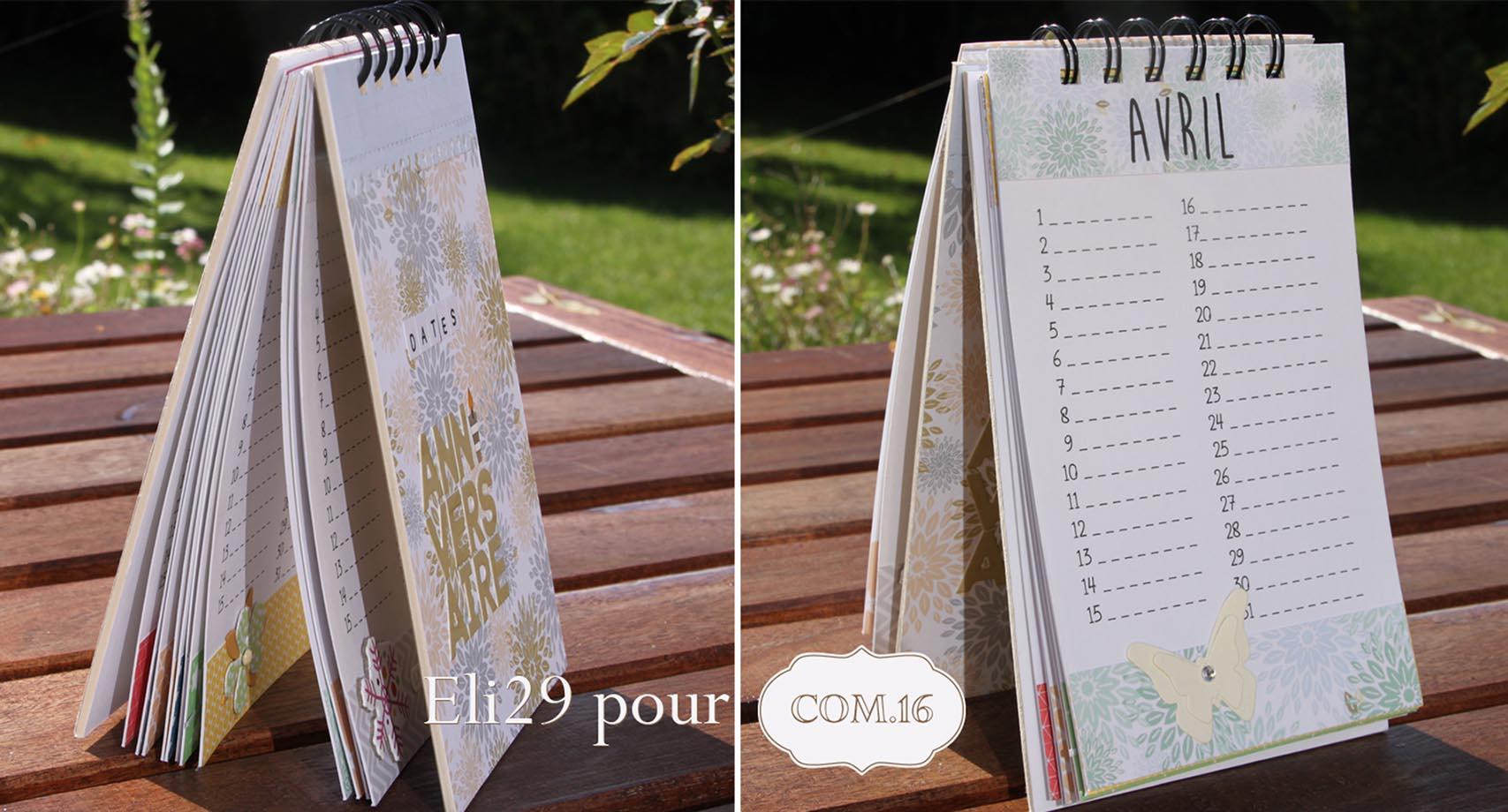 Calendrier Perpétuel Pour Les Anniversaires - Com.16 intérieur Calendrier Anniversaire Perpétuel À Imprimer
