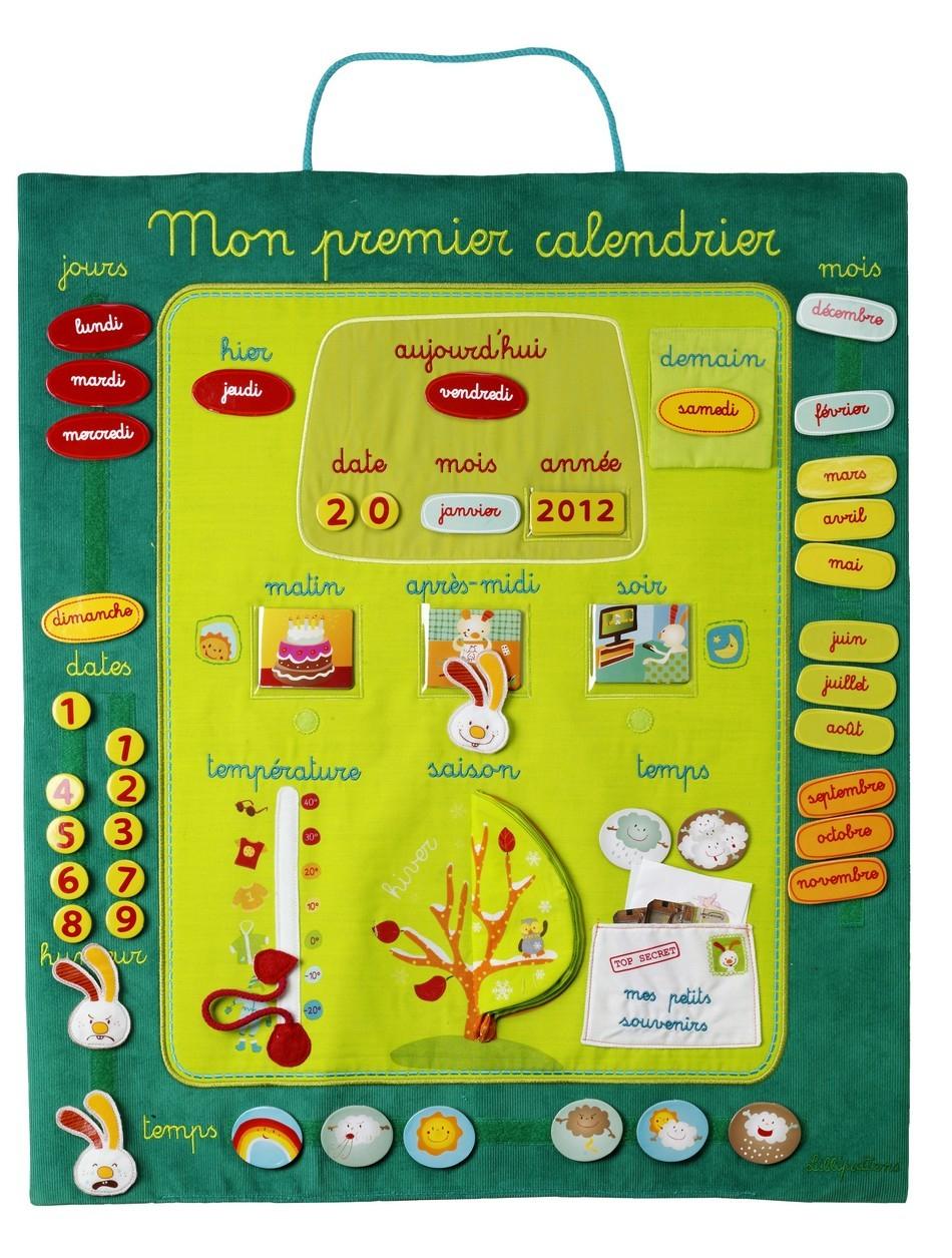 Calendrier Pour Enfant: La Liste Complète | Comment concernant Calendrier Ludique À Imprimer
