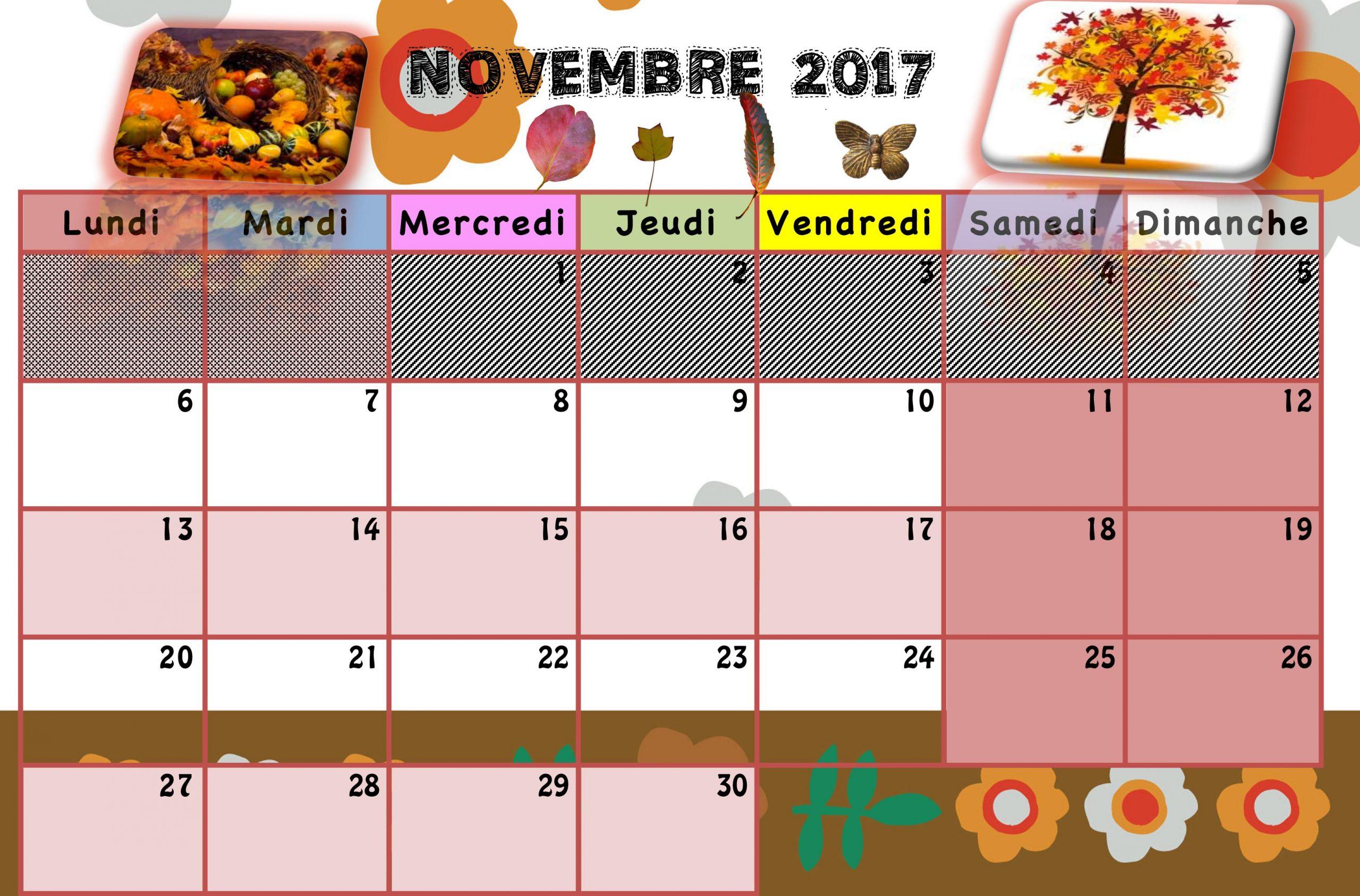 Calendriers Enfants 2017/2018 - La Classe De Luccia ! encequiconcerne Calendrier 2018 Enfant