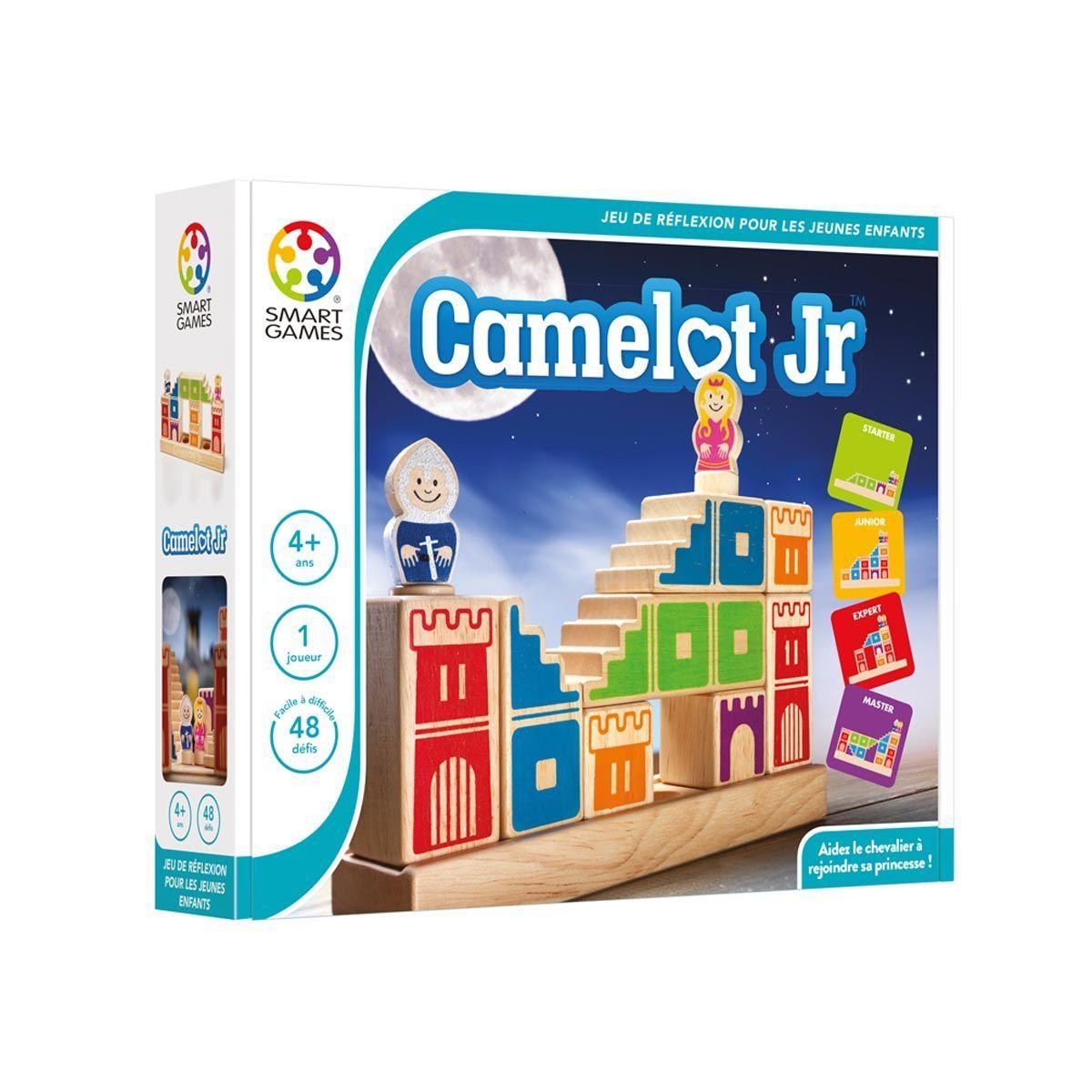 Camelot Jr Est Un Jeu De Réflexion Et De Logique. Le Prince pour Jeu Logique Enfant