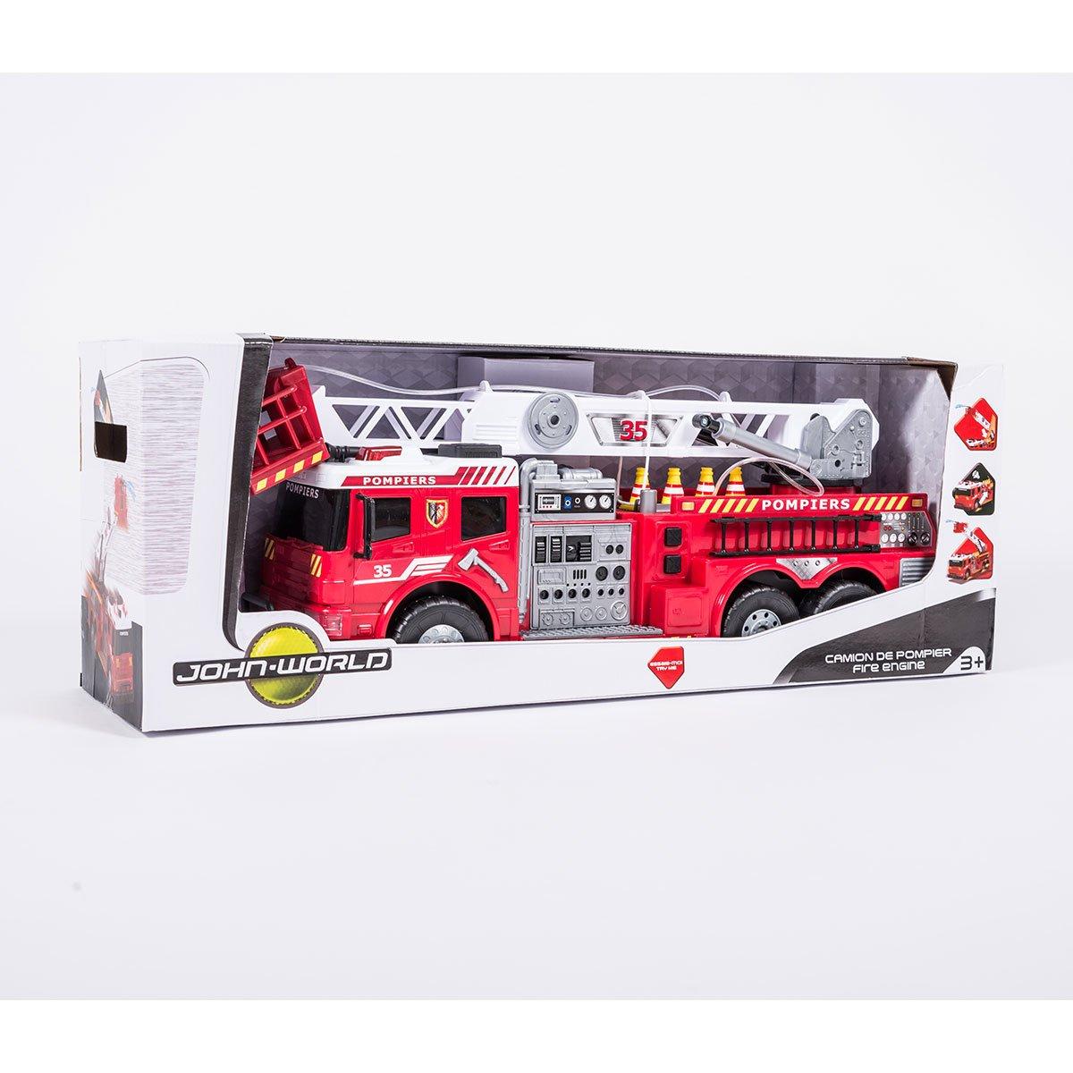 Camion De Pompier 62 Cm - Camions Et Bus - La Grande Récré à Jeux Gratuit De Pompier