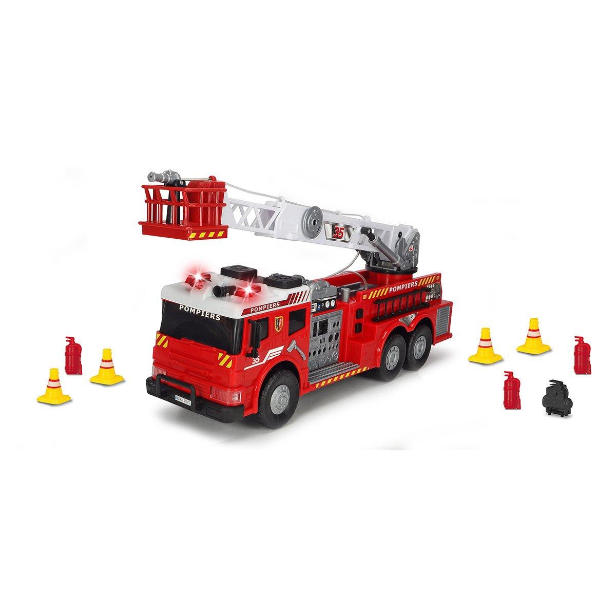 Camion De Pompier 62 Cm - Camions Et Bus - La Grande Récré intérieur Jeux Gratuit De Pompier