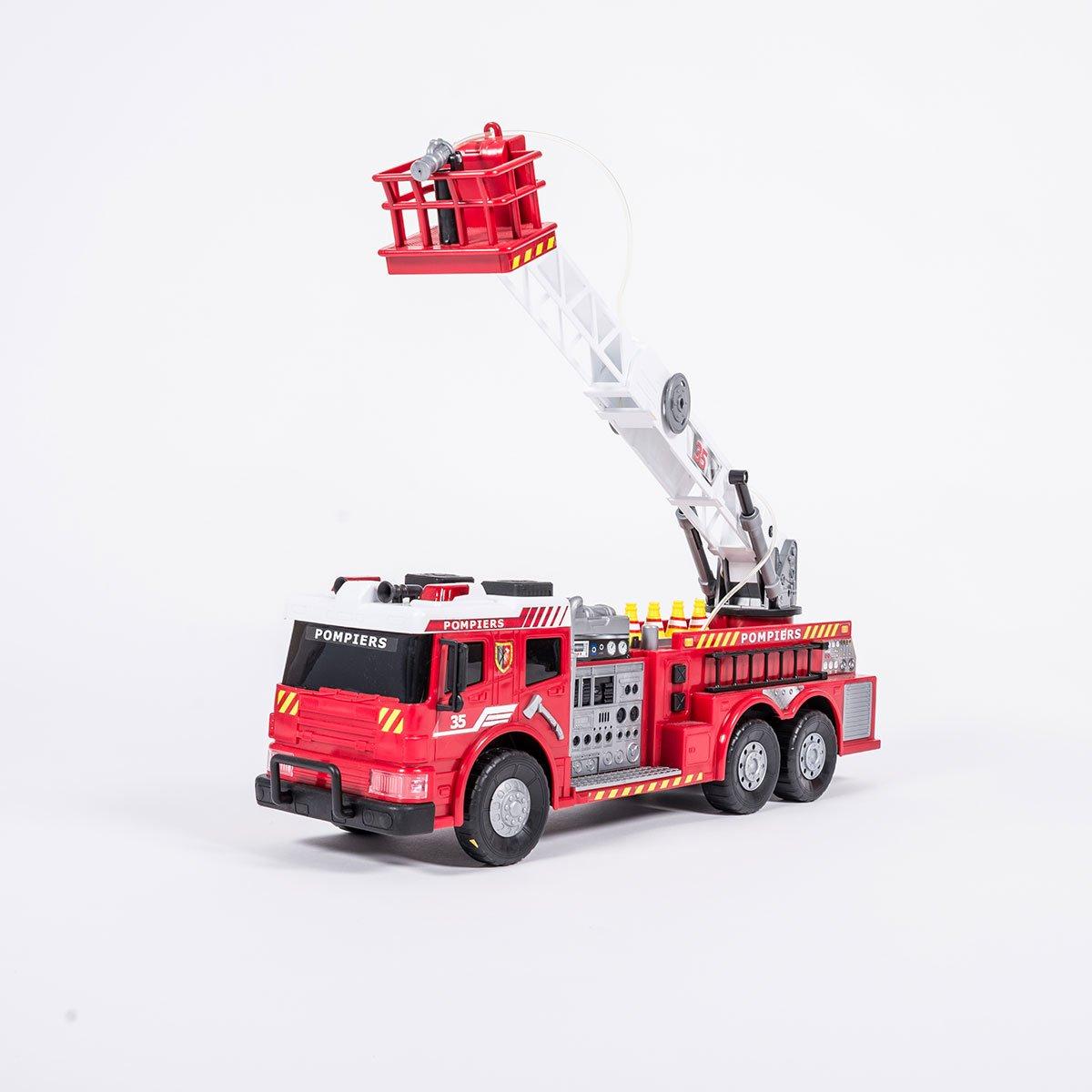 Camion De Pompier 62 Cm - Camions Et Bus - La Grande Récré serapportantà Jeux De Camion De Pompier Gratuit