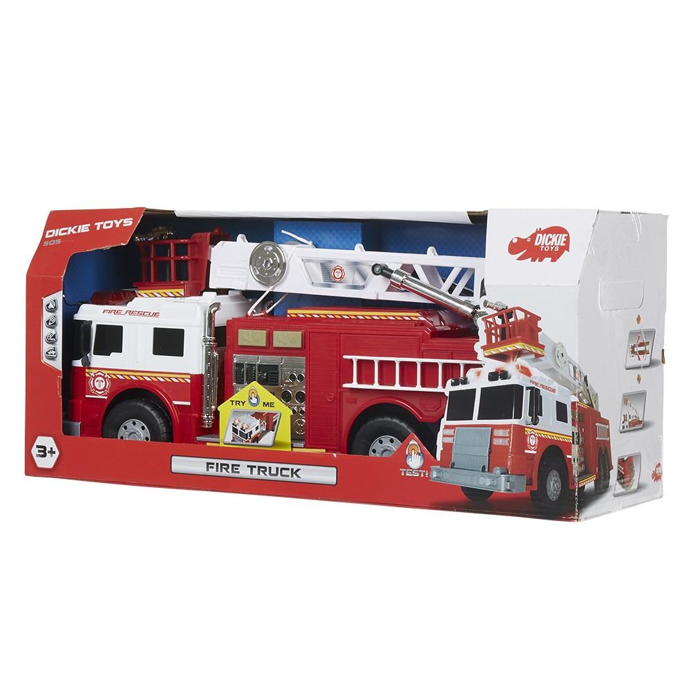 Camion De Pompier Avec Grue Sonore Et Lumineux à Jeux De Camion De Pompier Gratuit
