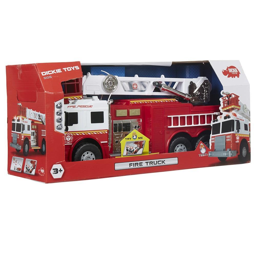 Camion De Pompier Avec Grue Sonore Et Lumineux avec Jouet Garçon 10 Ans