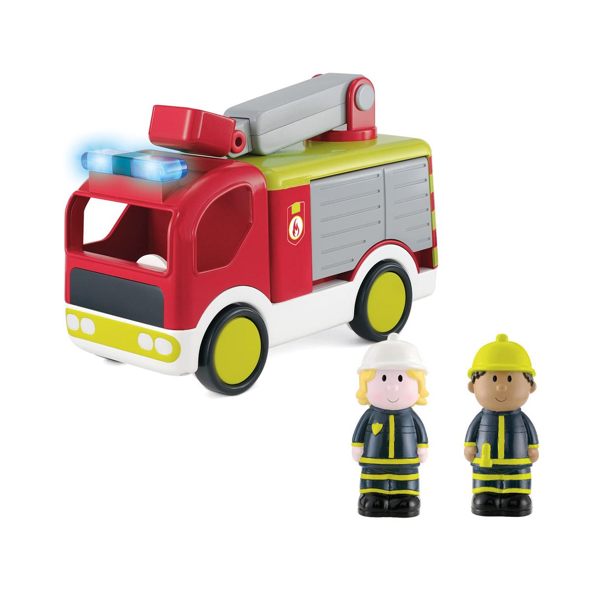 Camion De Pompier Happyland encequiconcerne Jeux Gratuit De Pompier