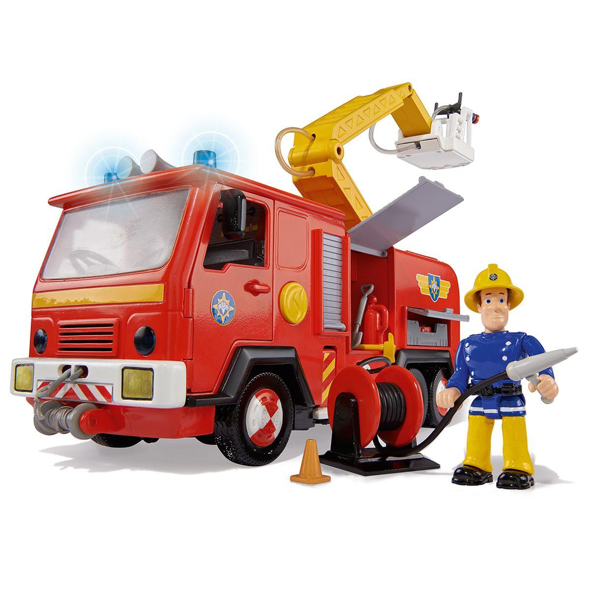 Camion Électronique Sam Le Pompier - Camions Et Bus - La serapportantà Jeux De Camion De Pompier Gratuit
